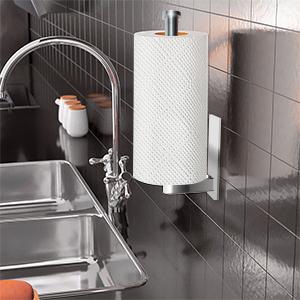 vertically put paper towel