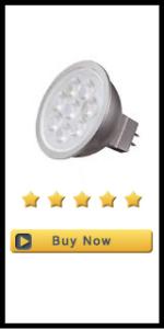 6.5 Watt; LED MR16 LED; 3000K; 40 deg. Beam Angle; GU5.3 base; 12 Volt AC/DC