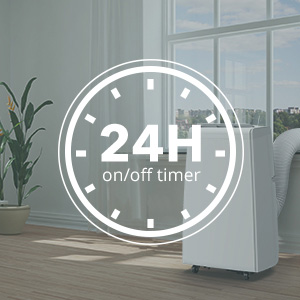 Portable Air Conditioner 10000 BTU with Timer