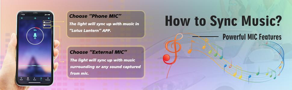 Sync music