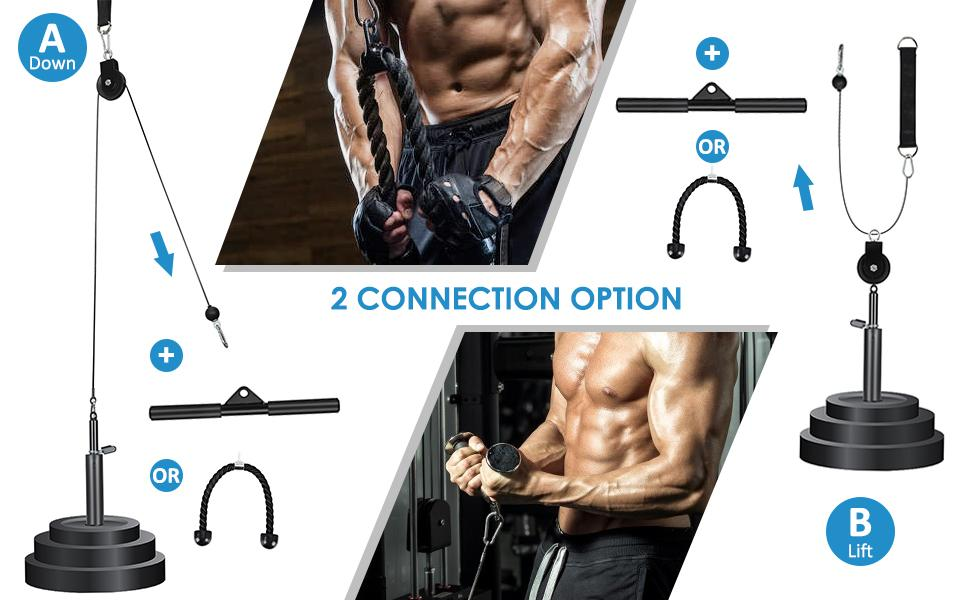 Cable Pulley Home Fitness Equipment