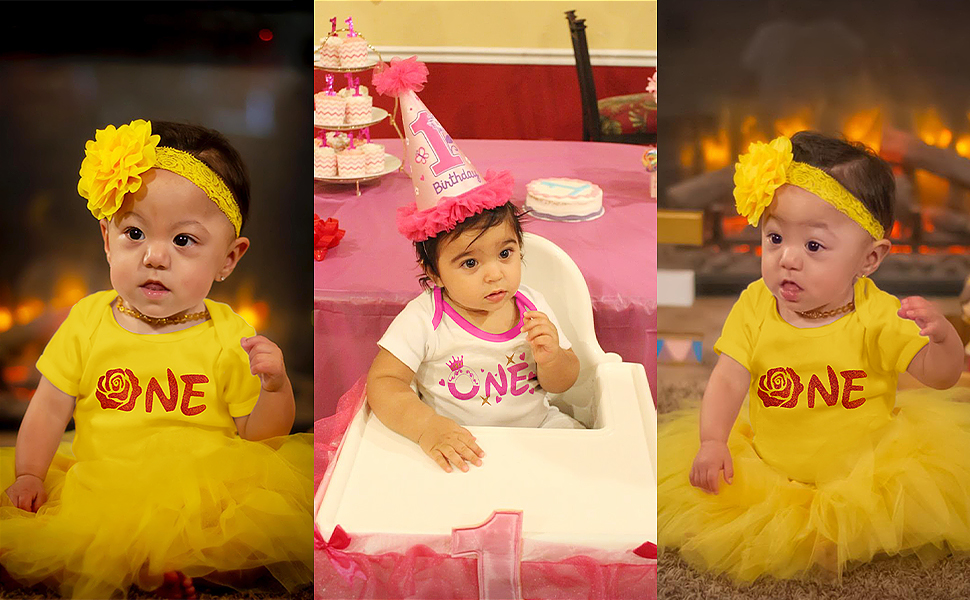 princess 1st birthday outfit