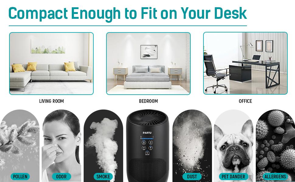 air purifier black
