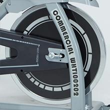 Whtor Exercise Bike for Home Gym Chromed Freewheel