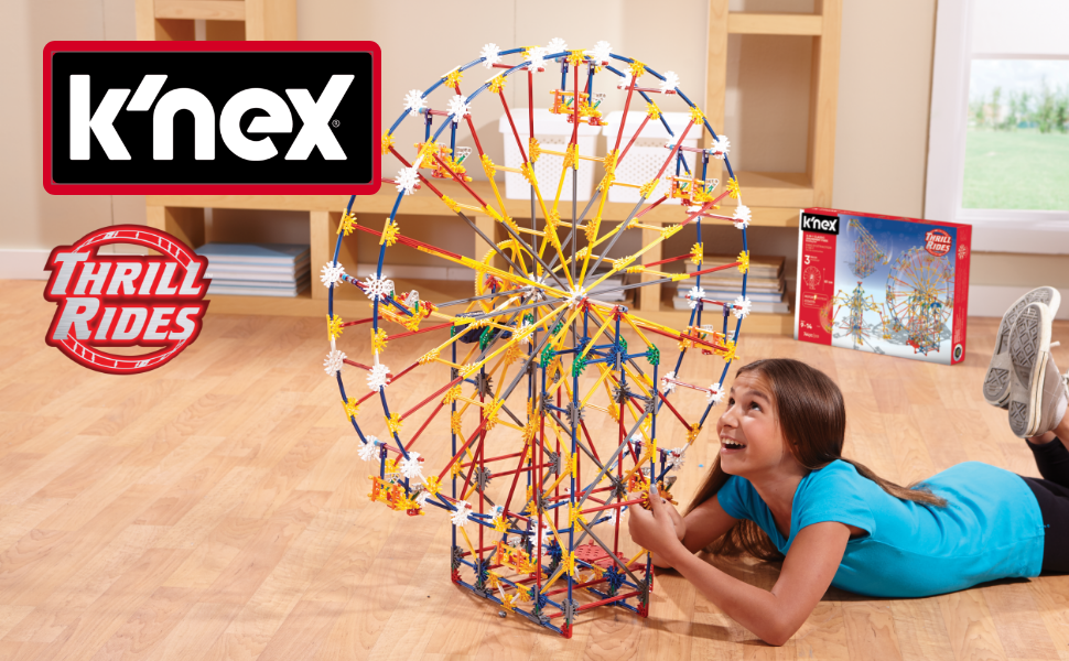 bannerHero in use image with K'nex/Thrill Rides branding