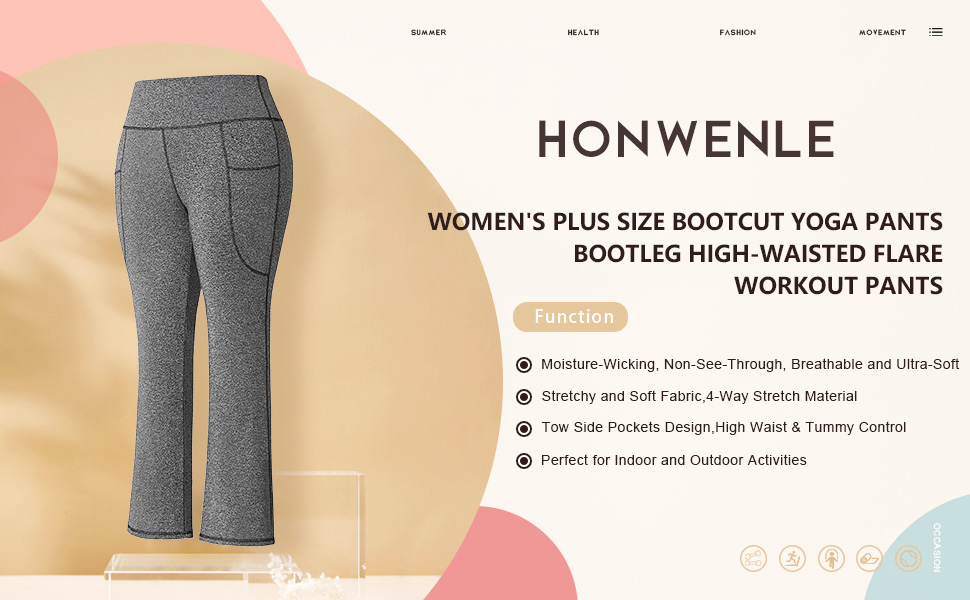 plus size yoga pants,bootcut yoga pant plus size,plus size bootleg yoga pants,plus yoga pant