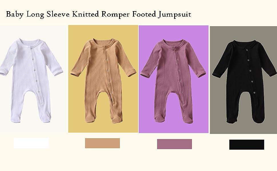 infant baby knit jumpsuit