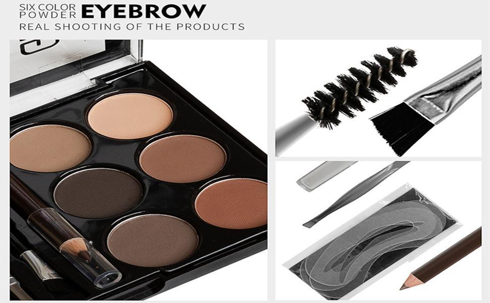 Eyebrow Powder Palette