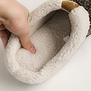 Better quality materials ensure comfy slippers