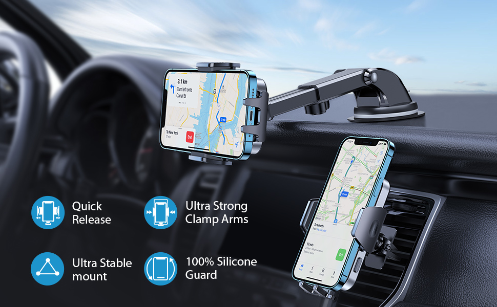 car phone holder mount phone mount for car phone holder for car