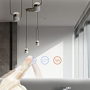 brightness dimmable mirror