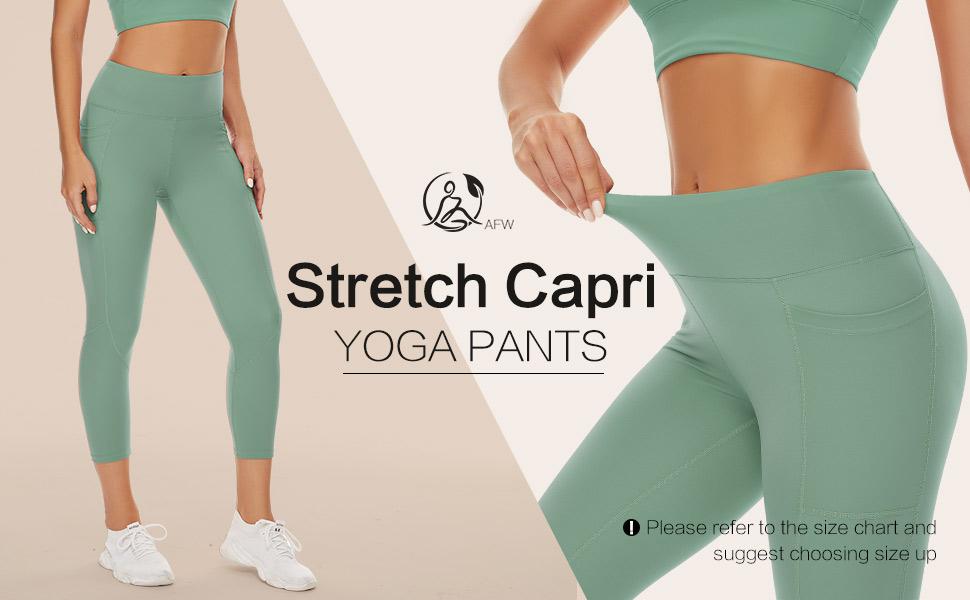 Stretch Capri Yoga Pants