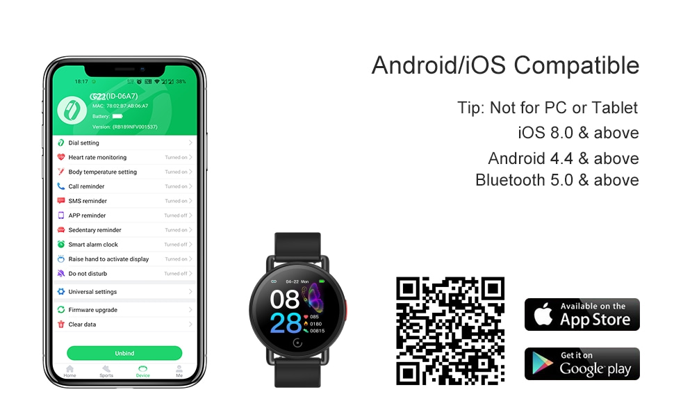smartwatch for android ios