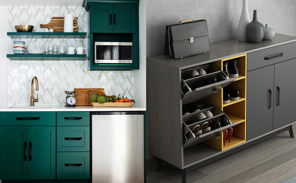 Ideaal voor keukenkasten, cupborden en laden slaapkamer meubilair trek handvat schoenkastdeur