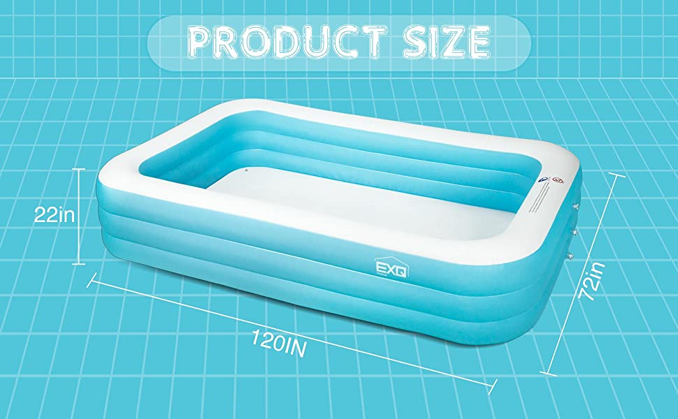 adult inflatable swimming pool
