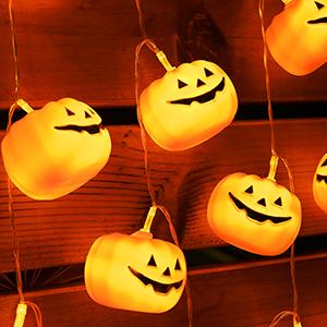 Halloween Decorative String Lights, Never more Boring!