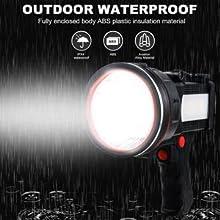 waterproof boat spotlight