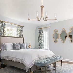 chandelier for bedroom