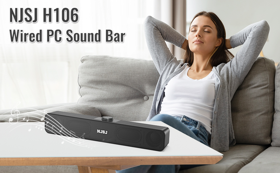 NJSJ PC Sound bar