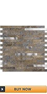 rust backsplash tile