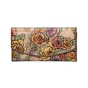 Large trifold wallet