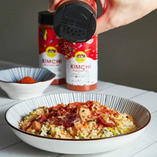sprinkle on fried rice