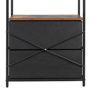 SONGMICS Rustic Storage Cabinet
