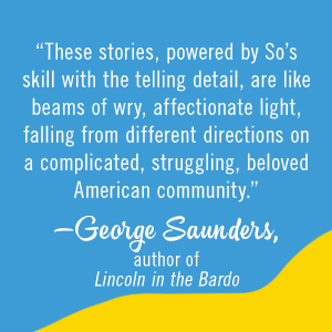 Afterparties by Anthony Veasna So, George Saunders quote