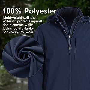 Lightweight Soft Shell Exterior Comfort