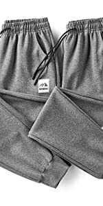 Menamp;amp;amp;amp;#39;s Joggers Athletic Pants Running Workout Tapered Sweatpants with Zipper Pockets