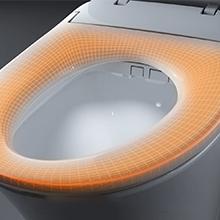 heated toilet seat