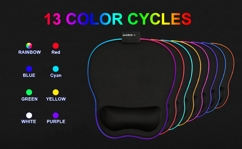 13 COLOR CYCLES