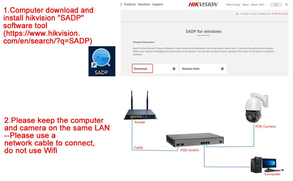 165ft IR Night Vision,IP67 Waterproof Network Security Surveillance Camera