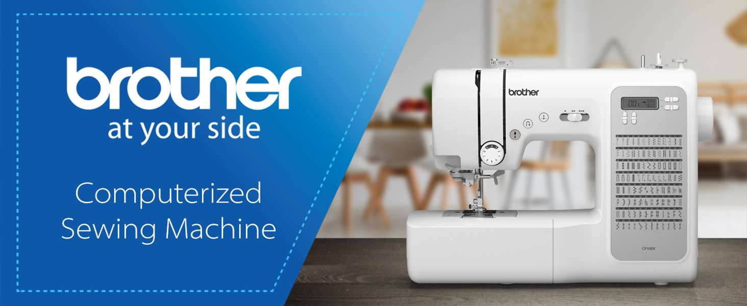 Brother at your side: Computerized Sewing Machine