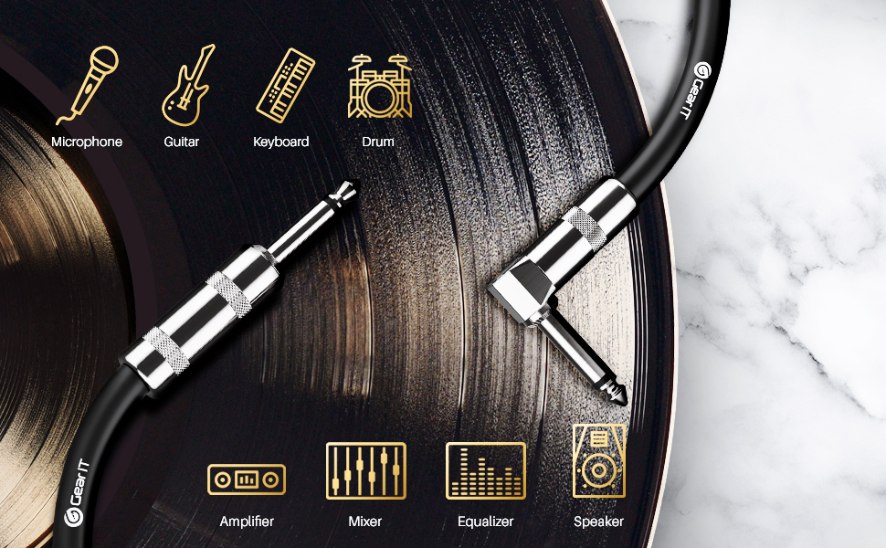 1/4 Cable works on various audio products