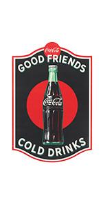 Coca-Cola wood sign