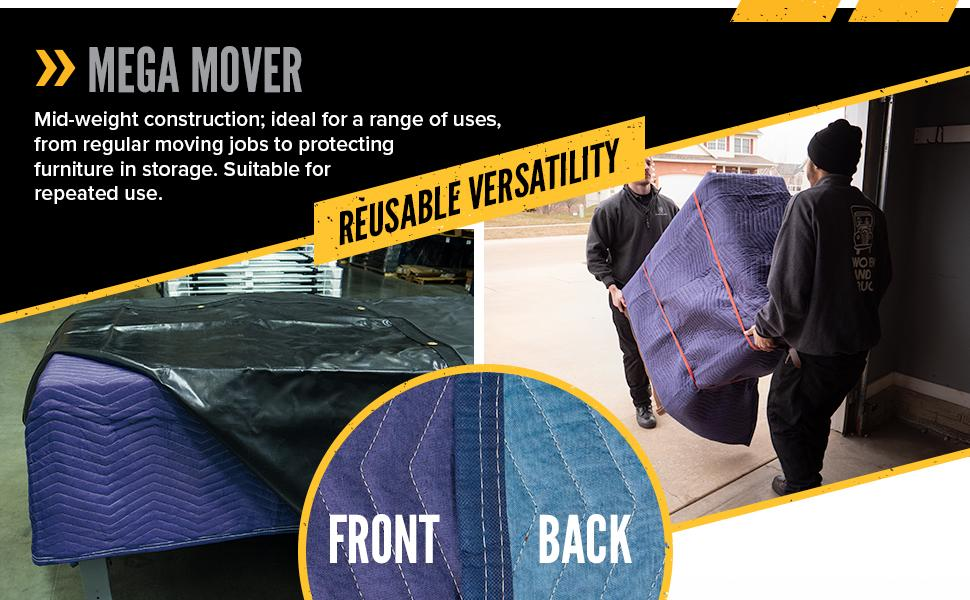 mega moving blanket for a variety of uses