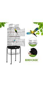 59.8 Inch bird cage