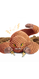 squeaky dog toys for aggressive chewers scorpion shape
