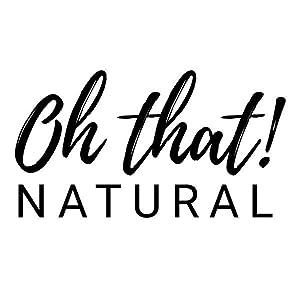 vegan natural paraben free sulfate free