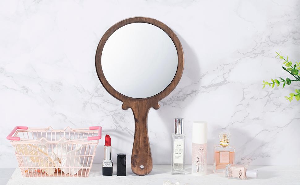 hand held makeup mirrors