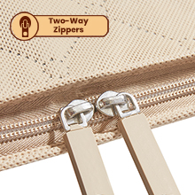 Two-way Zippers