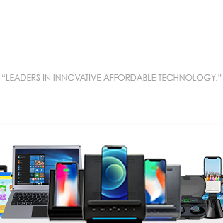 """A Picture of Azpen Products and out Mantra """"Leaders in innovative affordable Technology"""""""