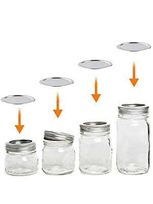 Canning Lids for Ball, Kerr Jars