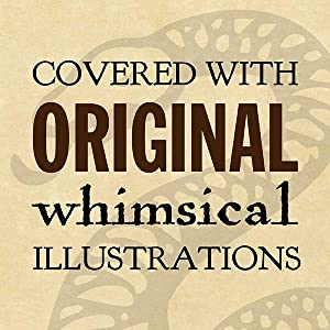 Covered with original whimsical illustrations