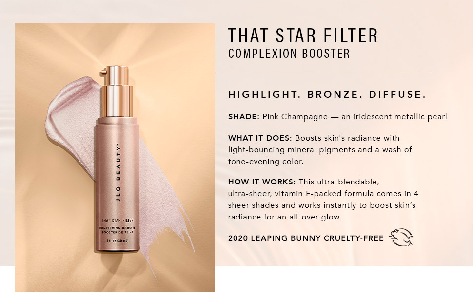 pink champagne that star filter complexion booster