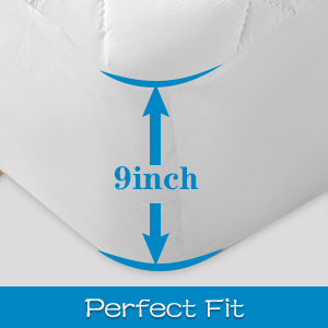 Perfect fit mattress protector