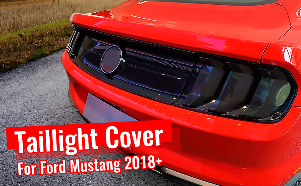 Fit for 2018+ Ford Mustang