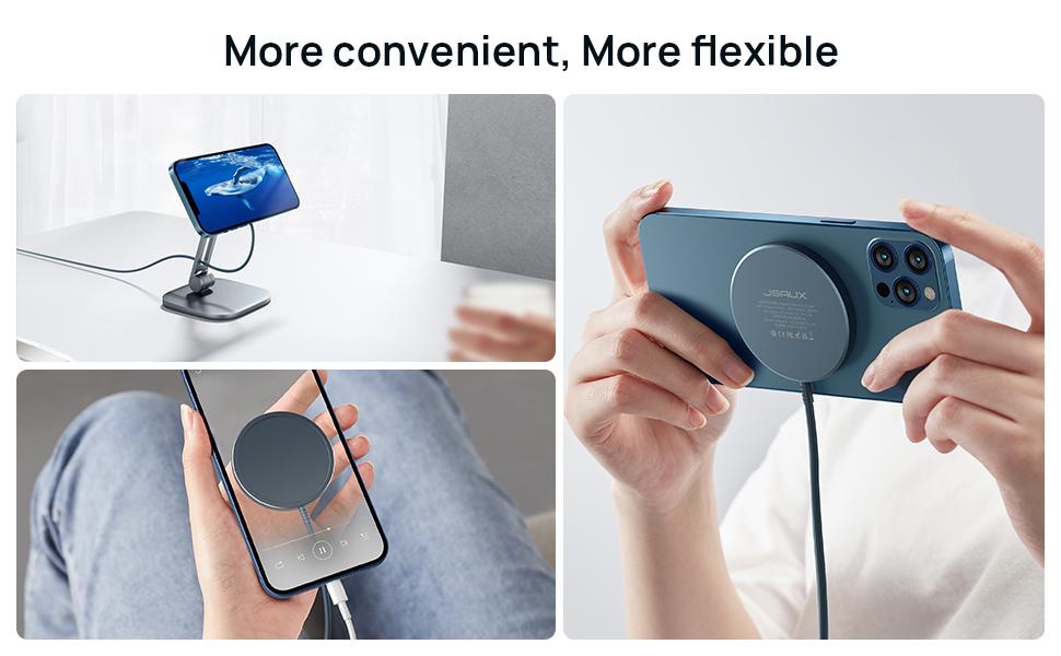 More convenient, more flexible.