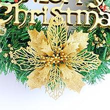 16 Inch Christmas Wreath